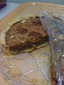 Pecan Pie the next day